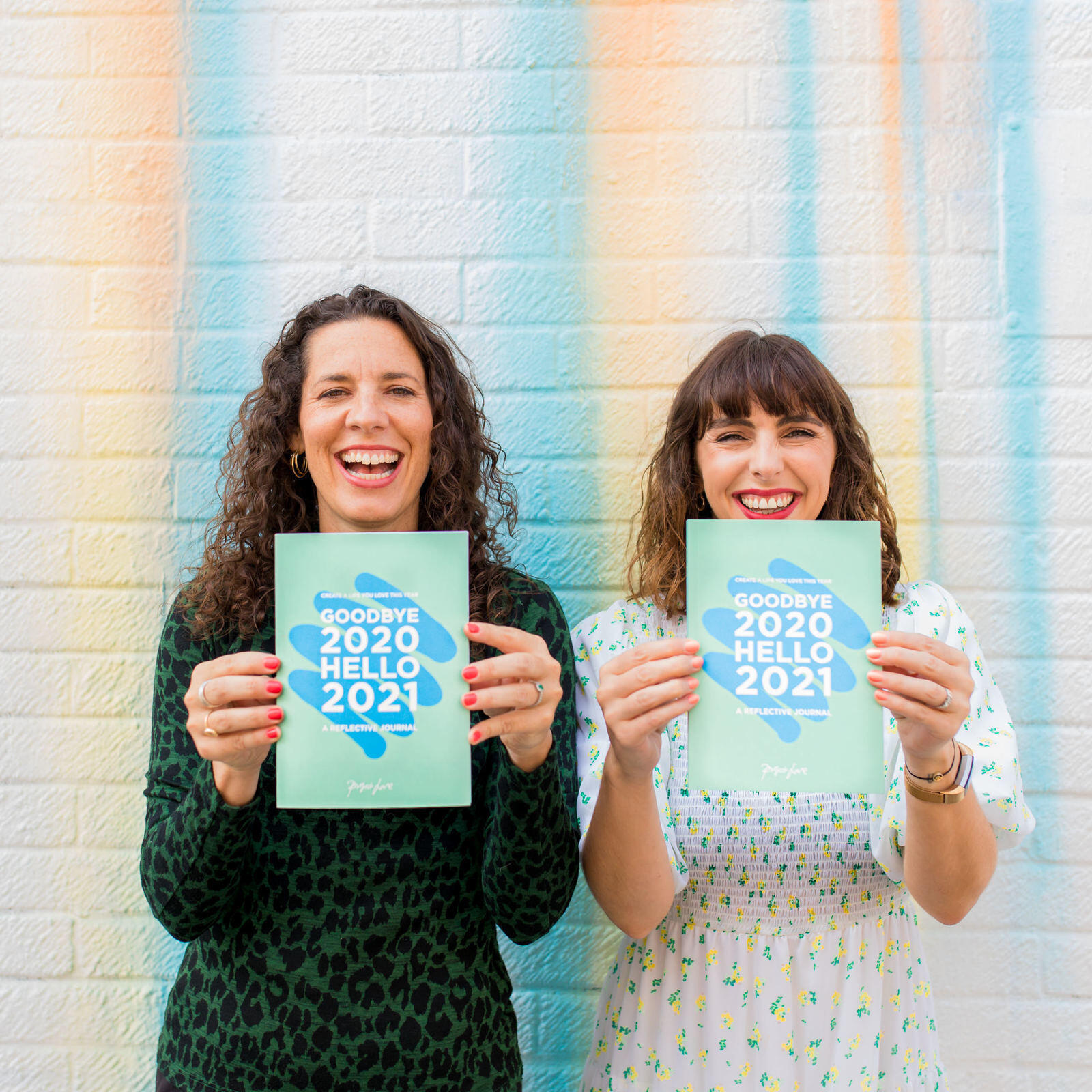 Ep 118: The lessons and insights that came out of doing our own 'Goodbye 2020, Hello 2021' journals (and our 2021 intentions!)