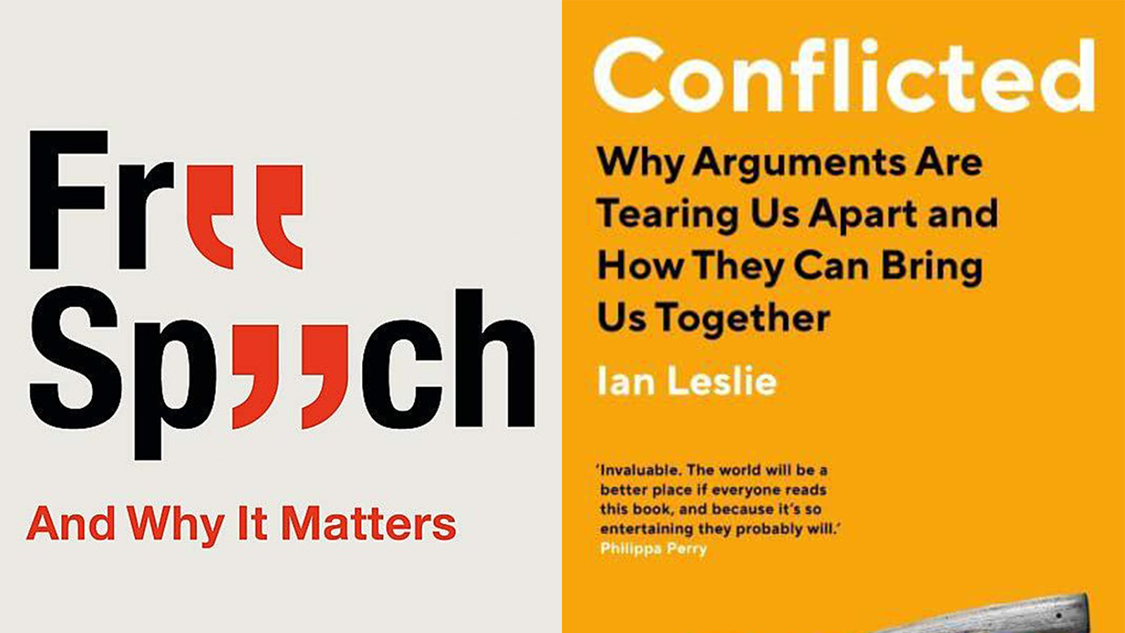 Andrew Doyle and Ian Leslie: How do we disagree?