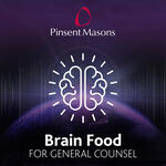 Brain Food For General Counsel