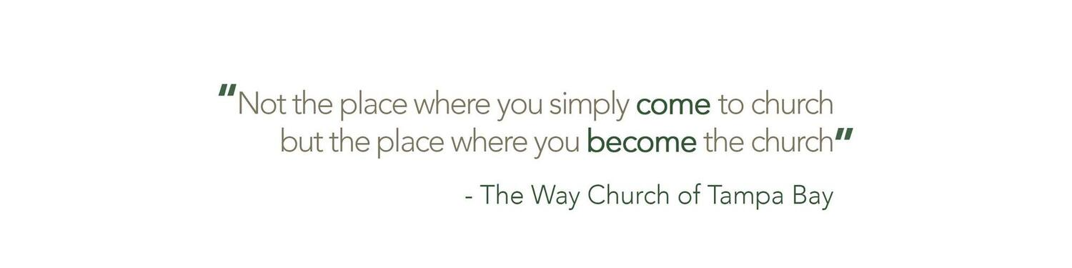 The Way Church of Tampa Bay with Pastor Keith Babb III