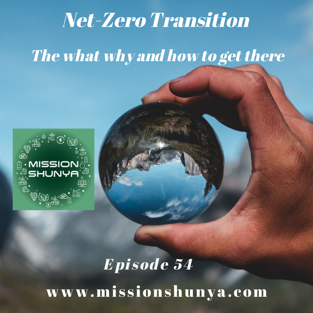 54: Net-Zero Transition: The what why and how to get there