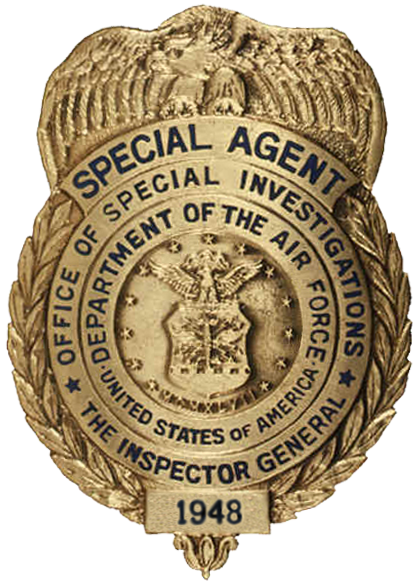 US Air Force – Office of Special Investigations: Part 2