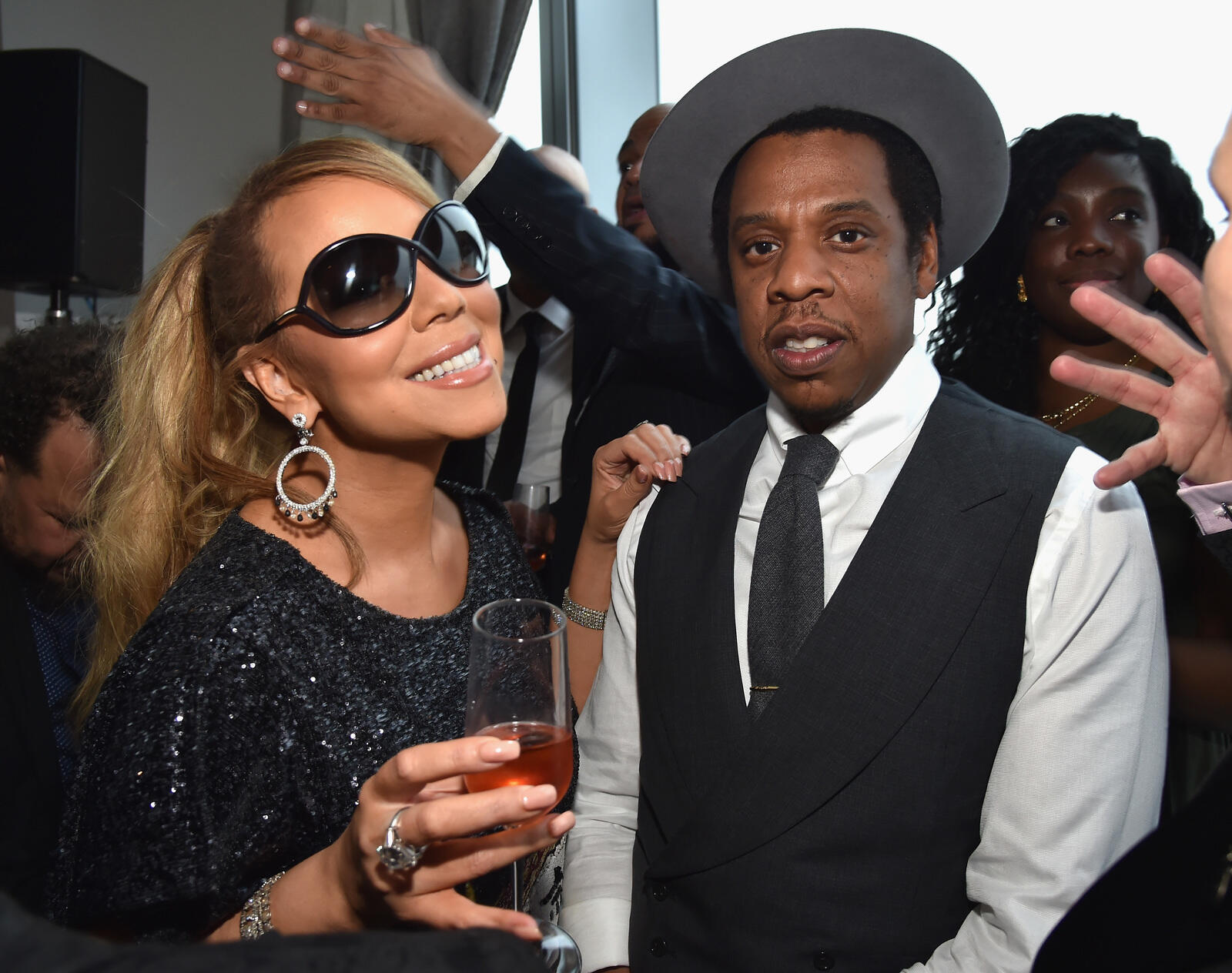 """202: 06/08/21 - Mariah Carey Slams Claims That She Left Roc Nation After An """"Explosive"""" Fight With Jay-Z: 'Poof, Vamoose Son Of A B****!'"""