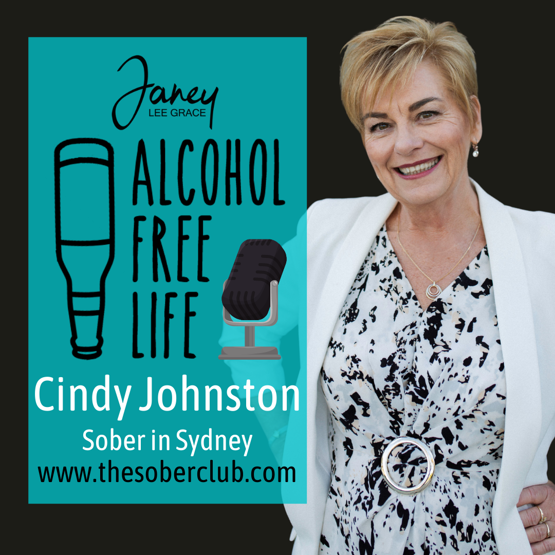137: Sober in Sydney with Cindy Johnston & Introducing Drynks