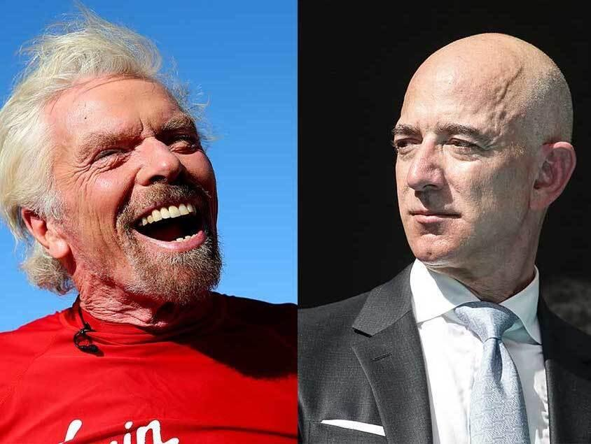 226: 07/12/21 - Billionaire Richard Branson Becomes The First To Rocket To The Edge Of Space In His Own Spacecraft—Beating Jeff Bezos To The Outer Space Punch