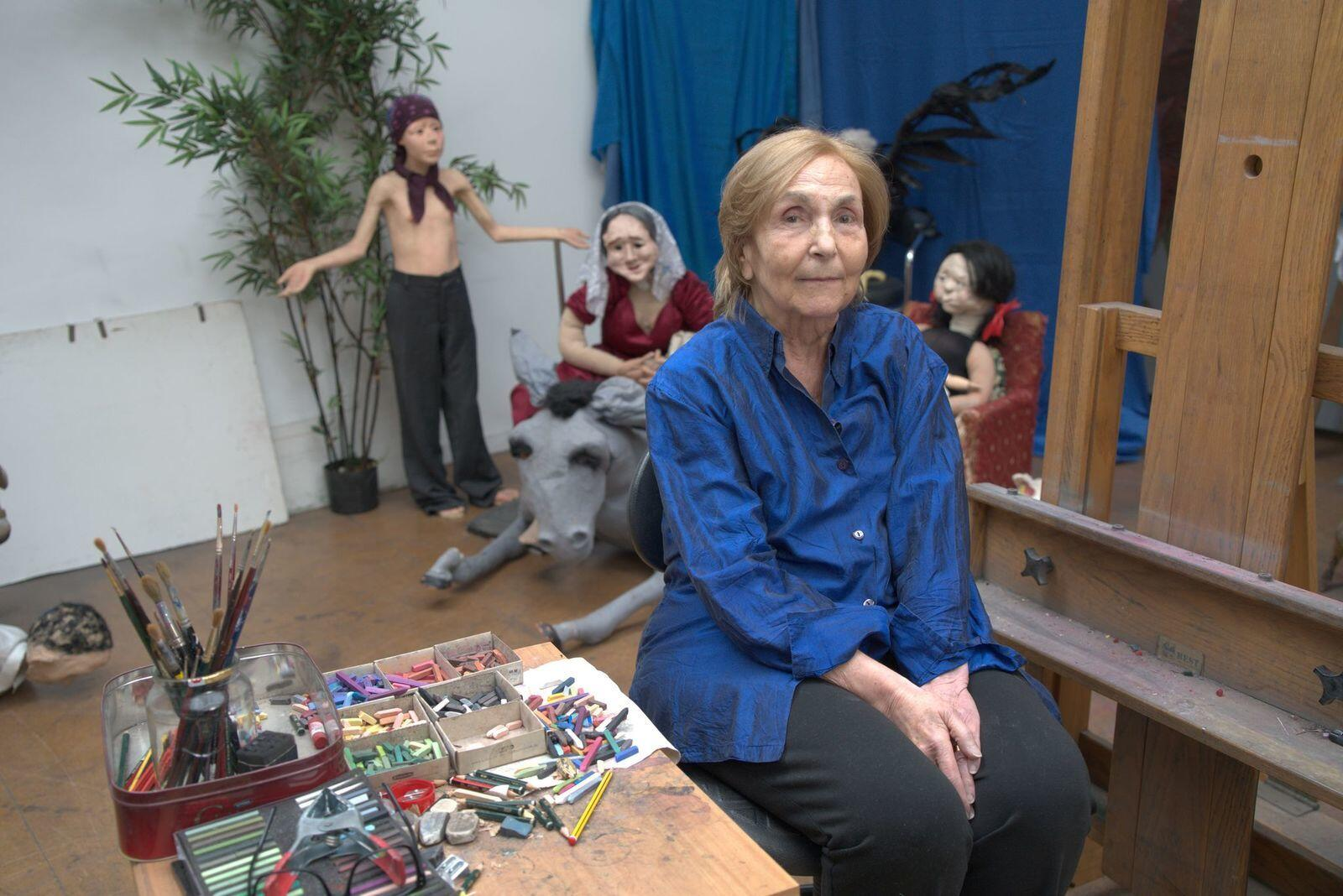 2: Paula Rego: One of the greatest figurative artists of her generation, who places women at the centre of her work