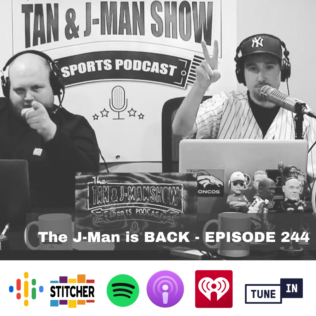 244: The J-Man is BACK!   The Open Championship   Olympics   PAC-12 Talk & More!  