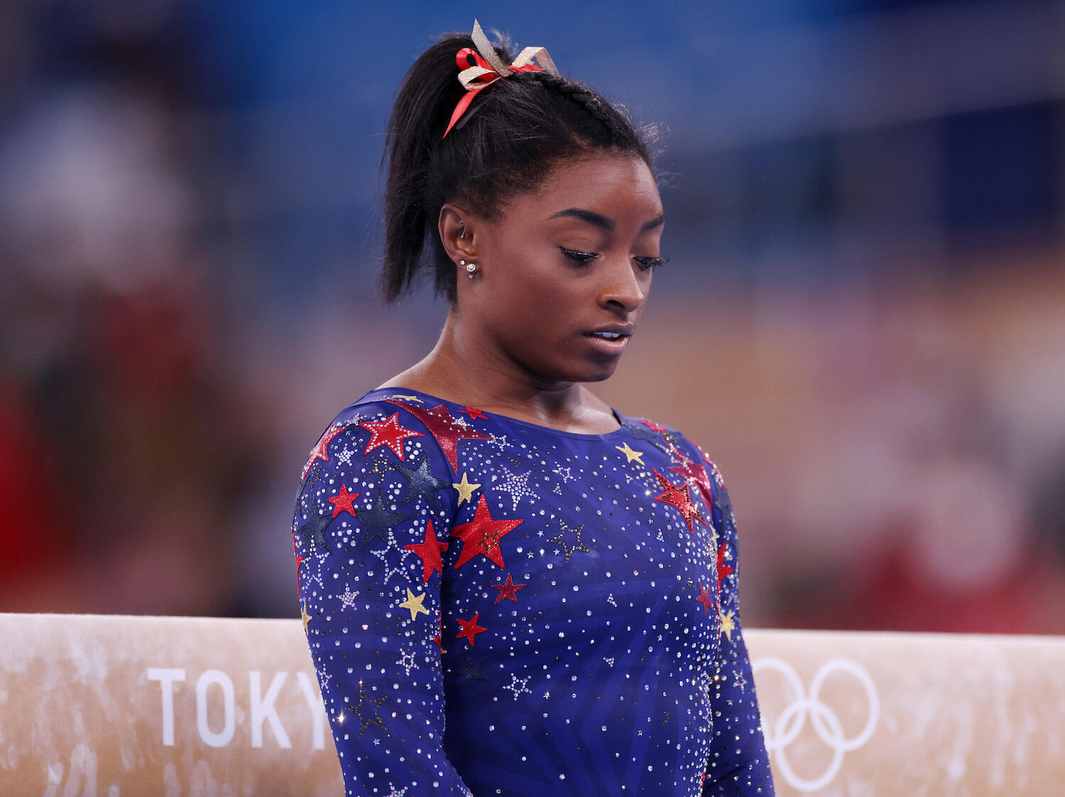 237: 07/27/21 -  Simone Biles Withdraws From The Women's Team Final Due to Mental Health Issues