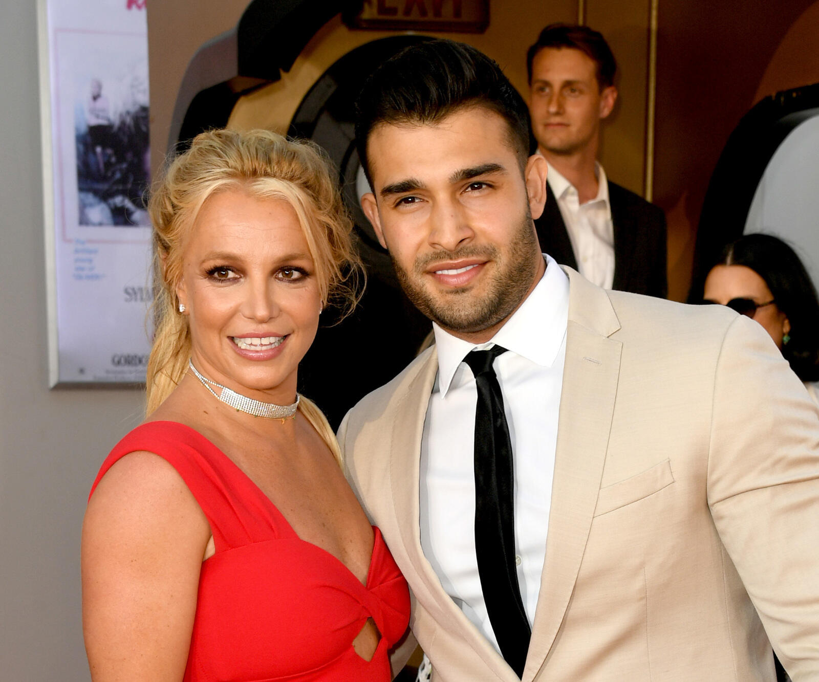 259: 08/26/21 - Britney Spears Shares Selfie With Beau Sam Asghari—Thanks Him For Being There During 'The Hardest Years' Of Her Life