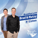 Brad and Hutzy in the Morning
