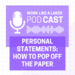 Podcast Post Template 1