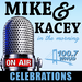 WHUD MIKE AND KACEY celebrations