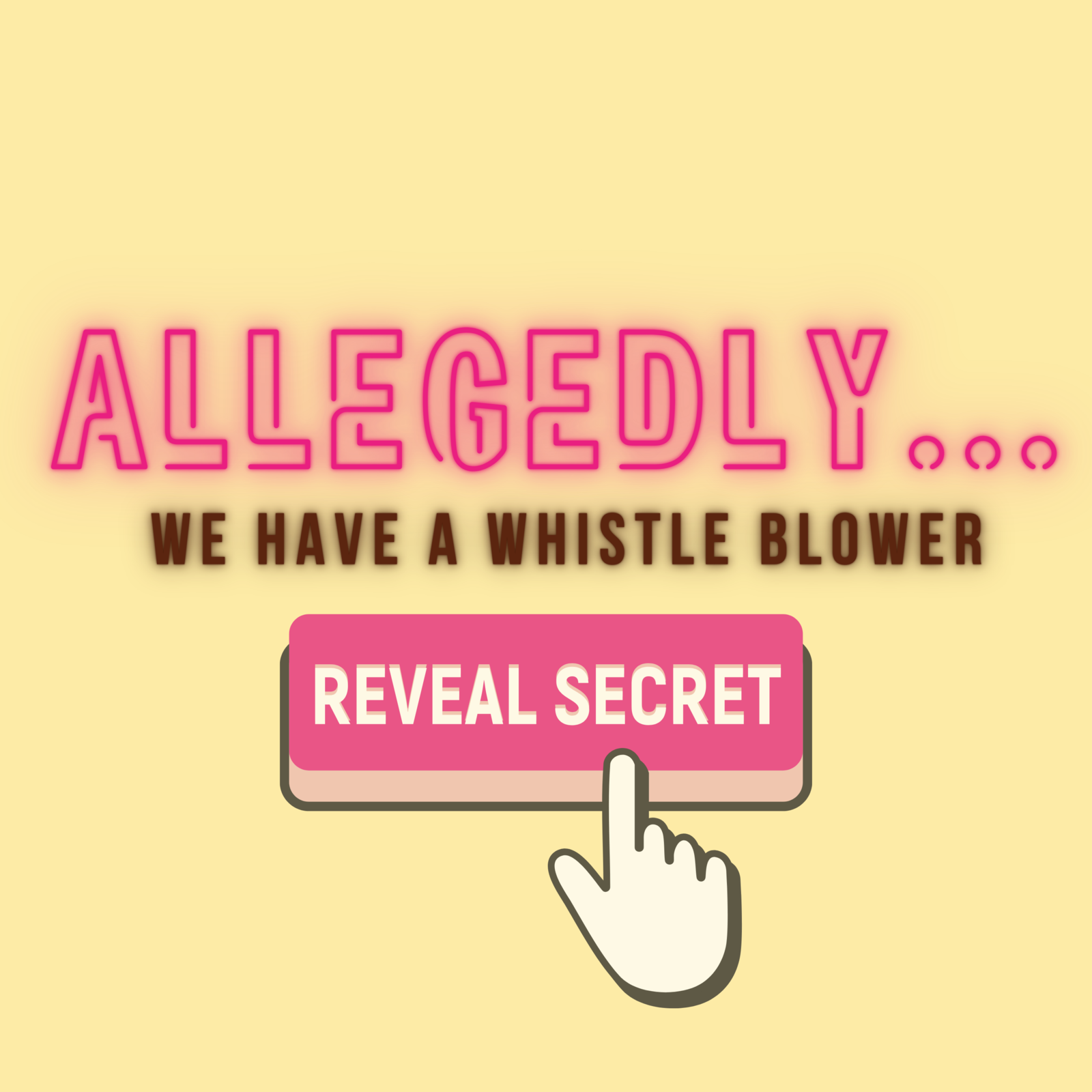 10: Allegedly... we have a whistle blower