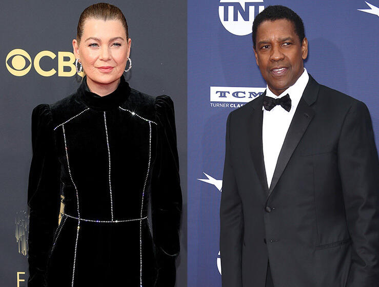 """20: 10/01/21 - Ellen Pompeo Says She and Denzel Washington Yelled at Each Other on the 'Grey's Anatomy' Set: """"This is My Show!"""""""
