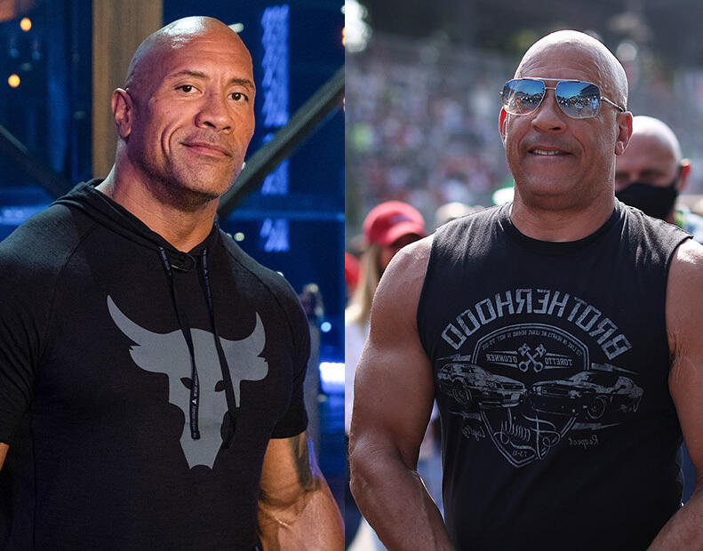 28: 10/13/21 - The Rock Said What He Said About  Vin Diesel—Says The 'Fast & Furious' Crew  Thanked Him For Calling Him A 'Candy Ass'