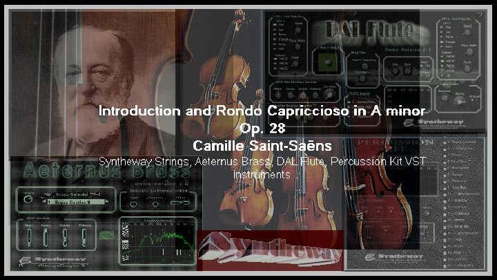 Audioboom / Camille Saint-Saëns: Introduction and Rondo